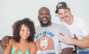 Shaquille O'Neal Hosts at Azure Luxury Pool