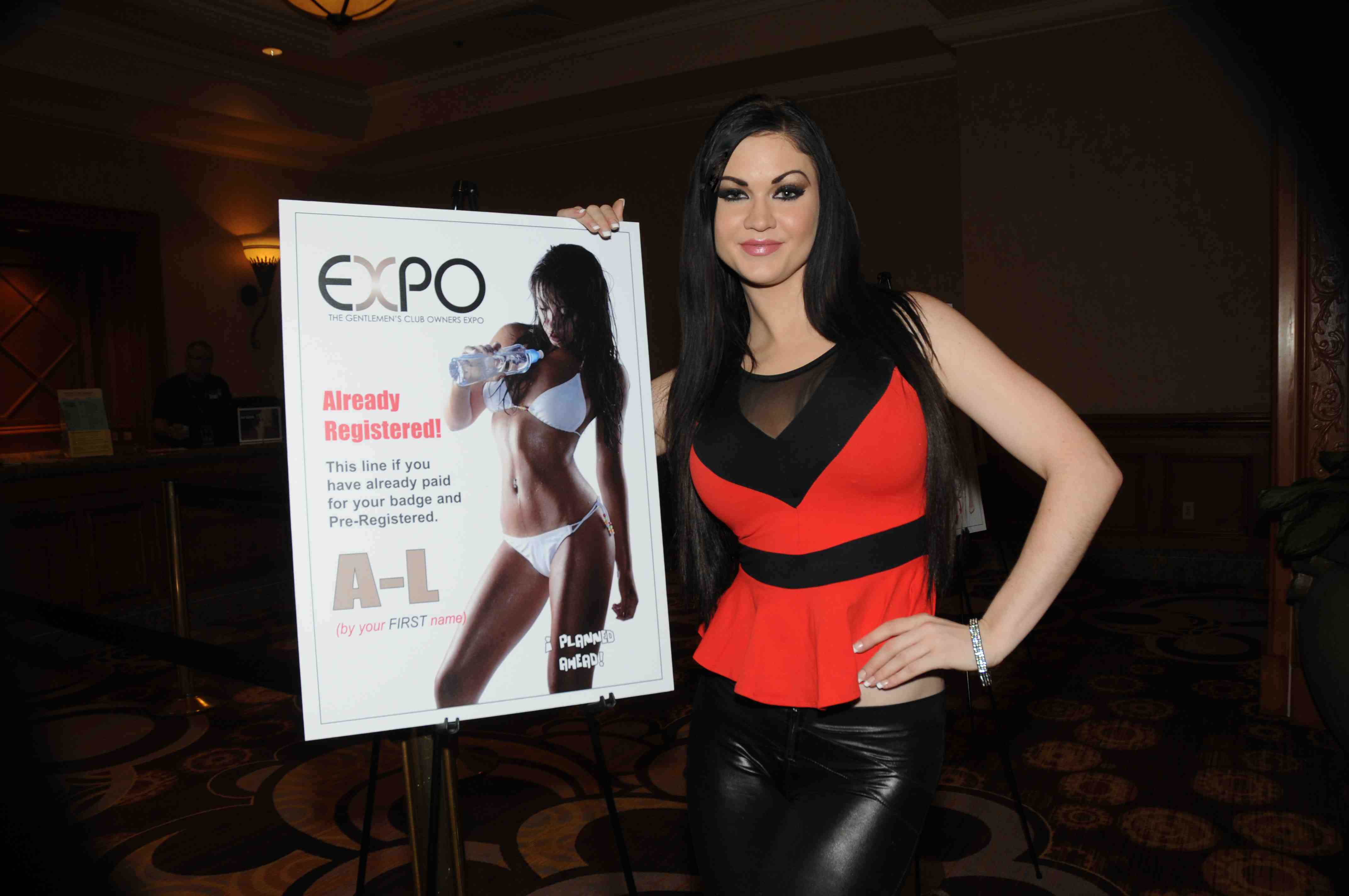 Kendall Karson At 2013 Gentlemens Club Owners Expo Kendall Karson At The 2013 Gentlemens Club Owners Expo At