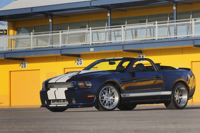 This 2012 Shelby GT350 was among hundreds of vehicles scheduled to go on the block during the Barrett-Jackson Las Vegas auction beginning Thursday, Sept. 26, 2013, at Mandalay Bay.