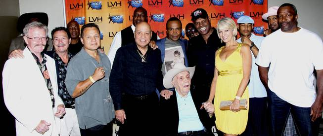 "Leon Spinks 60th birthday tribute during ""Raiding the Rock Vault"" at LVH"