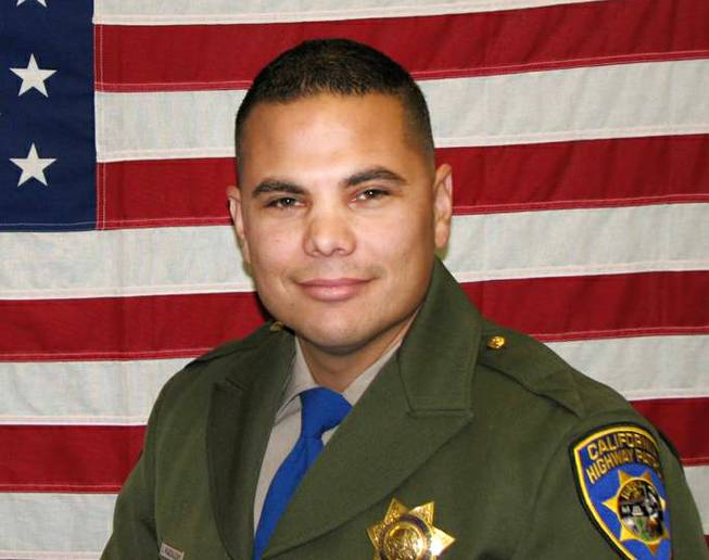 An undated photo provided by the California Highway Patrol, shows CHP Officer Jesus Magdaleno Jr., 33, an 8-year-veteran.