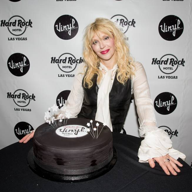 Courtney Love headlines Vinyl's first anniversary in the Hard Rock ...