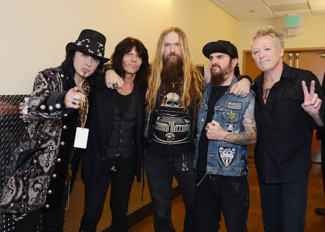 Robert Sarzo, Rudy Sarzo, Zakk Wylde, Blasko and James Kottak ...