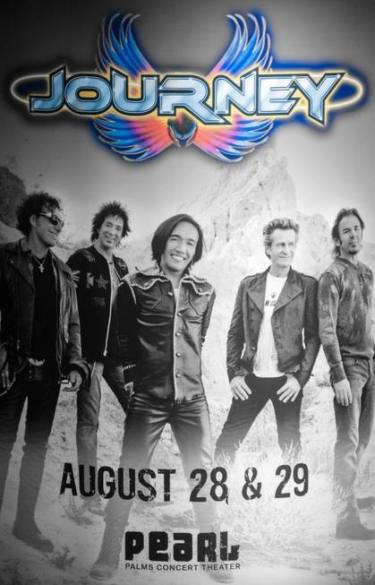 Journey performs at Pearl at the Palms on Wednesday, Aug. ...