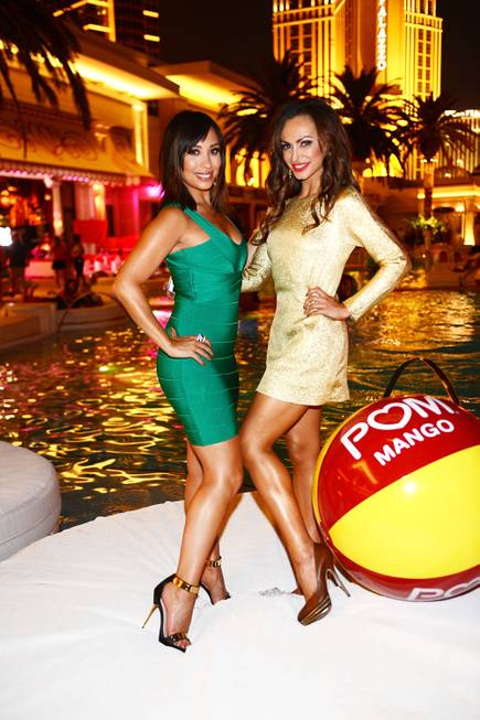 Cheryl Burke and Karina Smirnoff celebrate Pom Wonderful's launch of ...