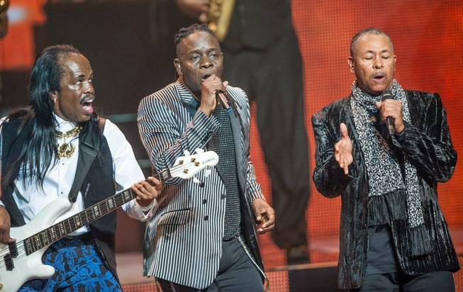 Earth, Wind & Fire performs at the Venetian on Friday, ...