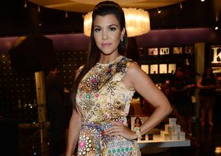 Kourtney Kardashian at Kardashian Khaos in the Mirage on Saturday, Aug. 31, 2013.