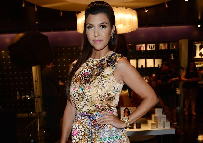 Kourtney Kardashian at Kardashian Khaos in the Mirage on Saturday, ...