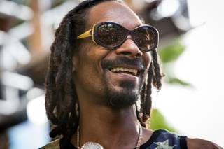 Snoop Lion hosts and performs at Rehab in the Hard Rock Hotel Las Vegas on Sunday, Sept. 1, 2013.