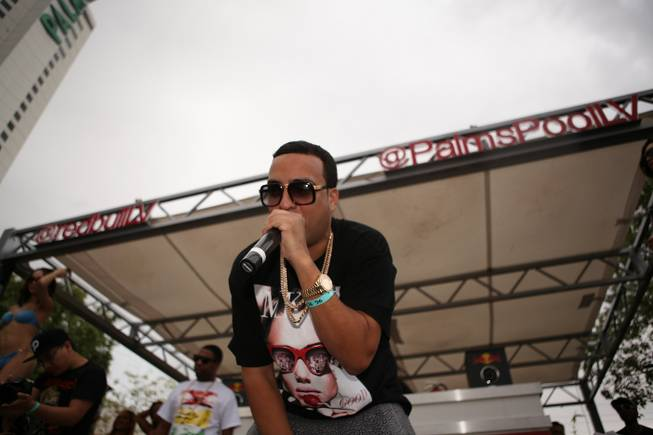 French Montana at Ditch Fridays at Palms Pool on Friday, ...