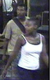 Metro Police are searching for two suspects, seen here, in a Aug. 28 robbery at a hotel on the 2900 block of Las Vegas Boulevard South.