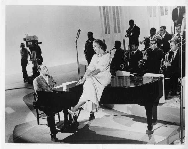 Duke Ellington and Edie Adams.