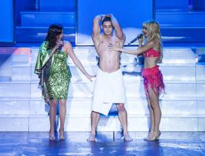 'Dancing Queen' Dress Rehearsal at Planet Hollywood