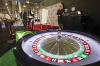 Neither Steve Wynn nor Sheldon Adelson has given a solo speech at the Global Gaming Expo, the massive annual industry conference in Las Vegas. That's scheduled to change this year ...