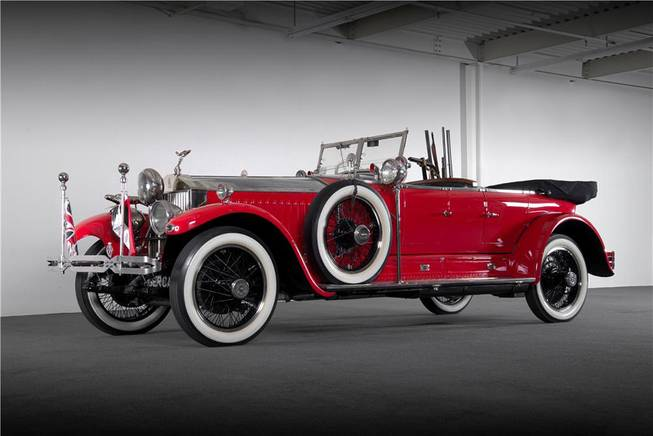 This 1925 Rolls-Royce was among hundreds of vehicles scheduled to go on the block during the Barrett-Jackson Las Vegas auction beginning Thursday, Sept. 26, 2013, at Mandalay Bay.