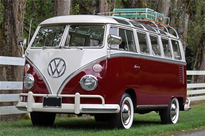 This 1967 Volkswagen van was among hundreds of vehicles scheduled to go on the block during the Barrett-Jackson Las Vegas auction beginning Thursday, Sept. 26, 2013, at Mandalay Bay.