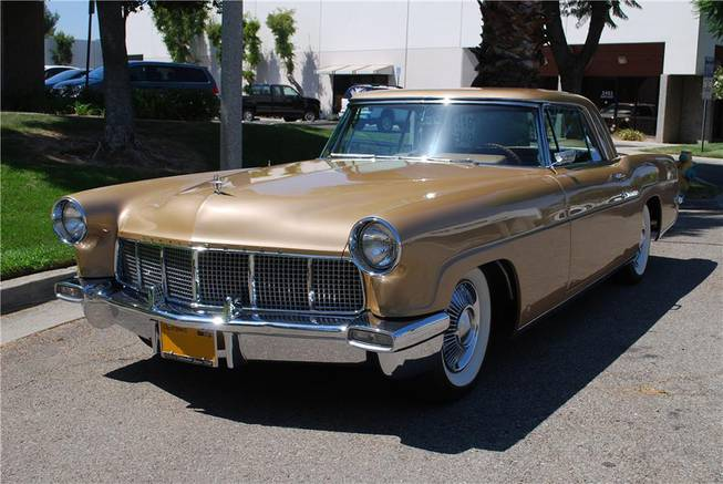 This 1957 Lincoln Continental Mark II was among hundreds of vehicles scheduled to go on the block during the Barrett-Jackson Las Vegas auction beginning Thursday, Sept. 26, 2013, at Mandalay Bay.