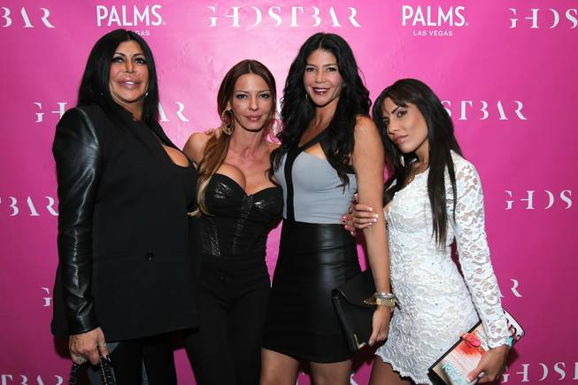 Big Ang, Drita D'avanzo, Natalie Guercio and Alicia DiMichele of ...