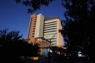 The Regional Justice Center is seen Friday, Sept. 27, 2013.