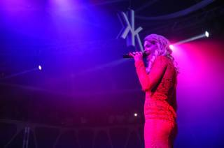 Rita Ora performs at Hakkasan on Thursday, Sept. 26, 2013, in MGM Grand.