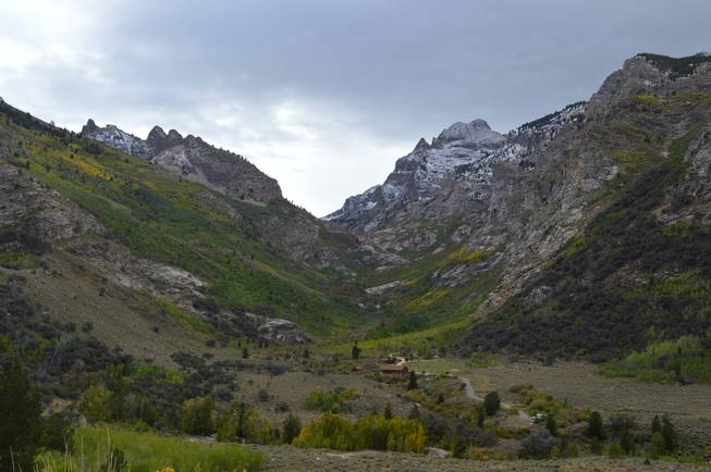 Lamoille Canyon near Elko provides some spectacular vistas. This photo was taken on Sept. 29, 2013.