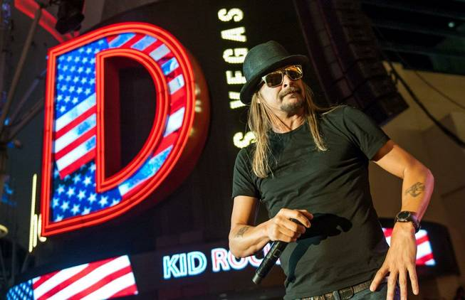 Kid Rock to run for US Senate in 2018