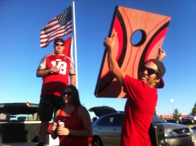 UNLV vs Western Illinois tailgating. September 21, 2013. Submitted by Jeff Waufle