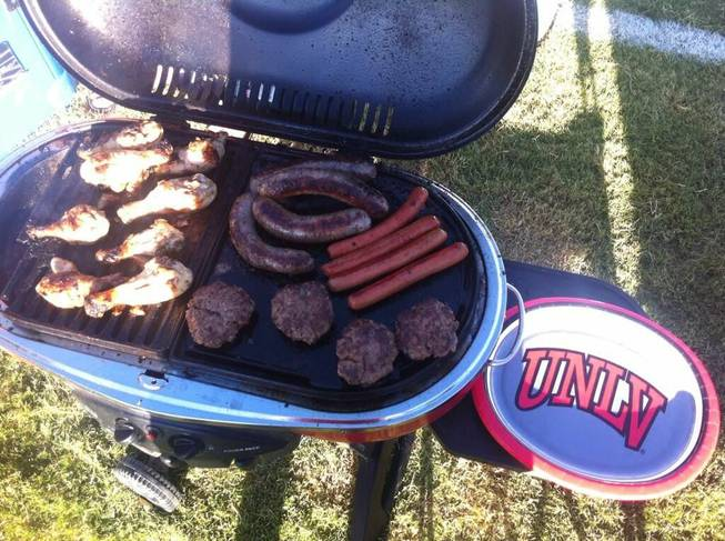 UNLV vs Western Illinois tailgating. September 21, 2013. Submitted by Brian Fuller
