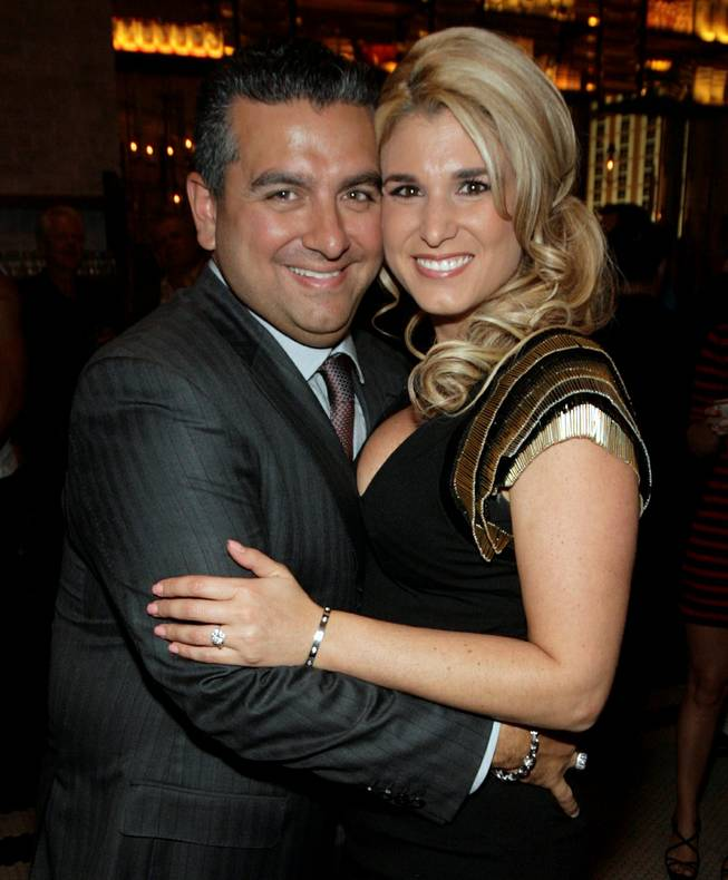Buddy and Lisa Valastro at Buddy V's Ristorante in Palazzo on Sunday, Oct. 6, 2013.
