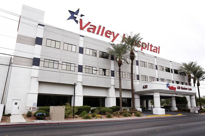 Valley Hospital in Las Vegas on Wednesday, October 9, 2013.
