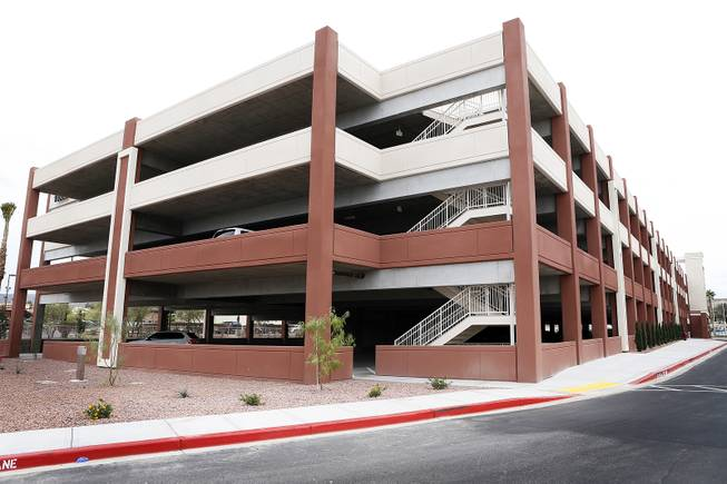 The newly constructed parking garage at St. Rose Dominican Hospitals - Siena Campus  in Las Vegas on Wednesday, October 9, 2013.