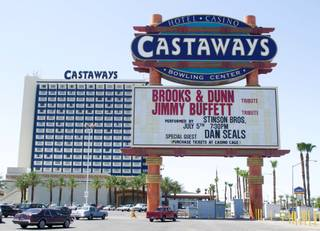 The Castaways and its marquee Thursday, June 26, 2003.