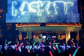 DJ Kaskade debuts at XS on Friday, Oct. 11, 2013, in Encore.