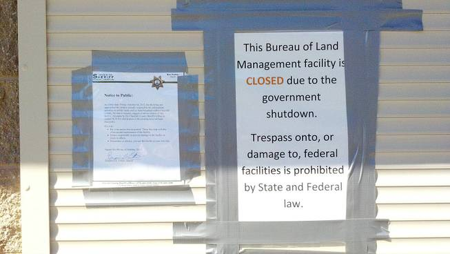 Amid shutdown, a spat ensues over Northern Nevada's Sand
