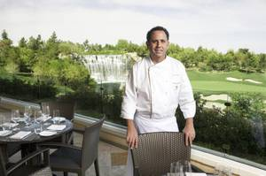 Chef Carlos Guia of the Country Club at the Wynn