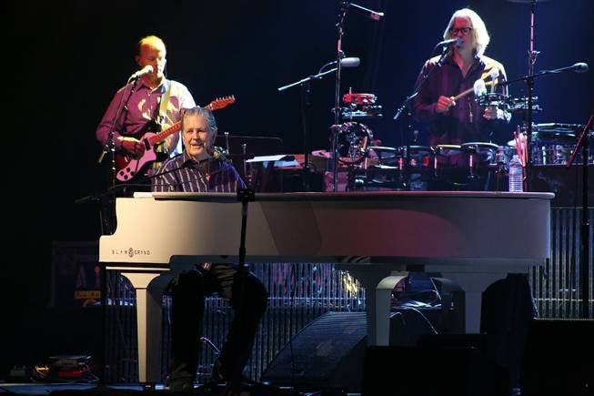 Brian Wilson and Jeff Beck perform on Friday, Oct. 18, ...