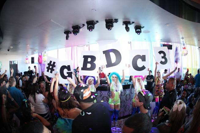 Ghostbar Dayclub Grandiose Opening on Saturday, Oct. 19, 2013, at the Palms.