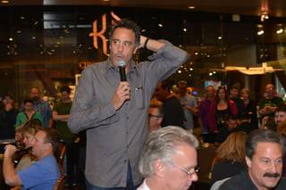 Brad Garrett's 2013 Maximum Hope Charity Poker Tournament on Saturday, Oct. 19, 2013, in MGM Grand.