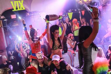 XIV Neon Circus on Sunday, Oct. 20, 2013, at Hyde Bellagio.