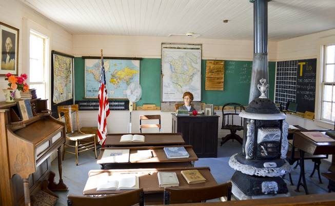 Opened around the turn of the 20th century, the East Walker School No. 9 served an area south of Yerington until 1953. It now sits in Yerington at the Lyon County Museum.