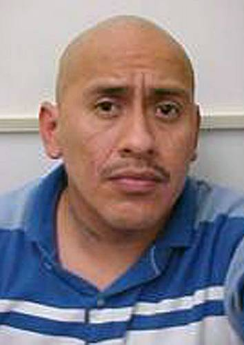 This undated photo provided by the Ridgecrest, Calif. police shows Sergio Munoz.