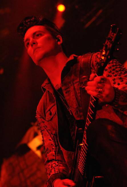 Avenged Sevenfold performs at Mandalay Bay Events Center on Saturday, ...