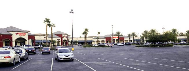 Sahara Pavilion, a shopping center at the northeast corner of Sahara Avenue and Decatur Boulevard, Oct. 28, 2013.