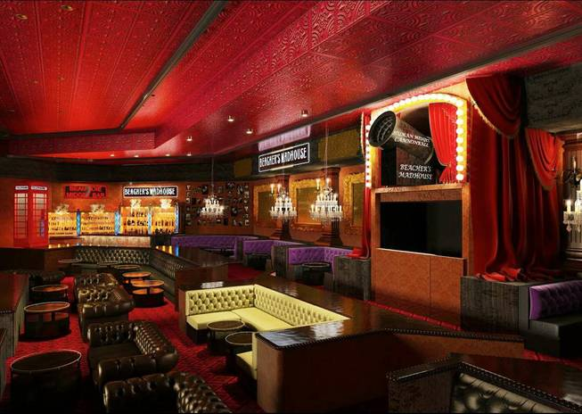 Renderings of Jeff Beacher's Madhouse at MGM Grand in Las ...