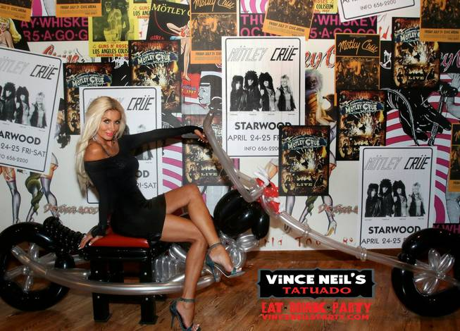 Vince Neil's Tatuado, Eat, Drink, Party at Circus Circus.