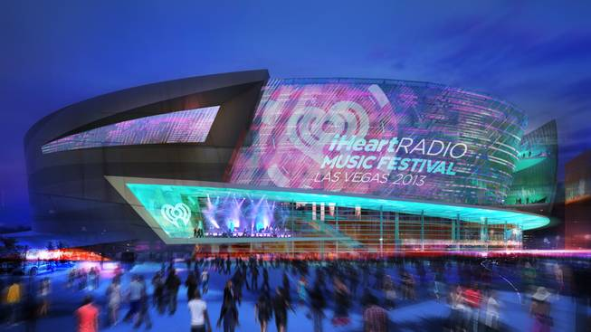 AEG and MGM Resorts International released renderings of their $350 million arena off the Las Vegas Strip.