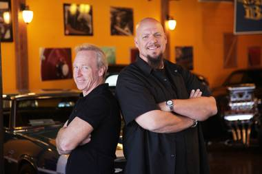 "Perry Barndt and Jeff Allen star in CNBC's ""The Car Chasers."""
