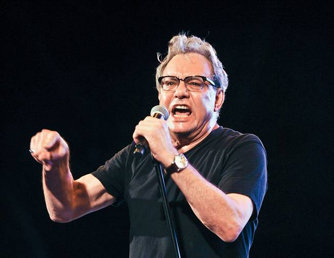 Lewis Black took the stage at the Mirage on June 22.