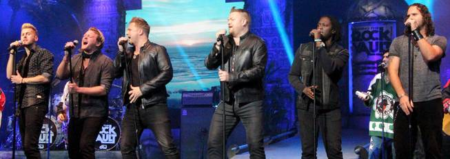 "The Tenors of Rock appear in ""Raiding the Rock Vault"" at LVH on Monday, Nov. 4, 2013."