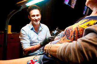 Tattoo artist Joey Hamilton, Season 3 winner of